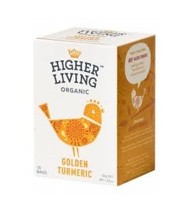 INFUSION CURCUMA DORADA 20 ud higher living