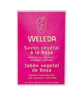 JABoN VEGETAL ROSA 100gr. weleda