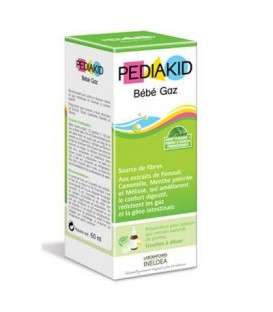 JARABE INFANTIL GAS 60ml. pediakid