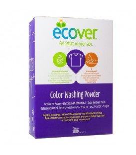 DETERGENTE POLVO ROPA COLOR 1,2kg. ecover