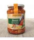 RAVIOLIS c/VERDURAS fco. CRISTAL 670gr. danival