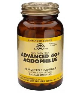 40+ACIDOFILUS (probioticos intestino) 60cp. solgar