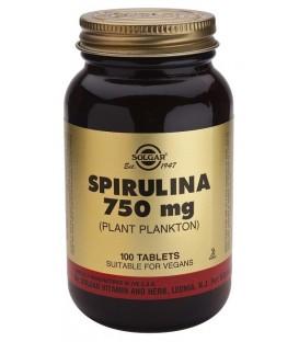 ESPIRULINA 750mg. 100cp. solgar