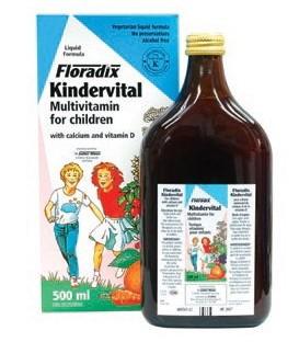 KINDERVITAL (calcio y vit. infantil) 250ml. salus