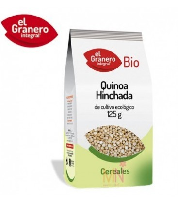QUINOA HINCHADA 125gr. biogran