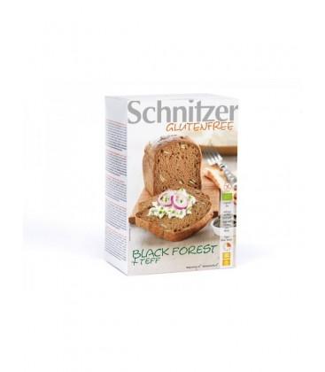 PAN P.CALABAZA y TEFF s/GLuTEN 2x250gr. schnitzer