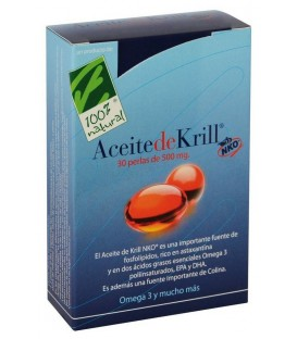 ACEITE  KRILL 40p. 500mg. 100% natural