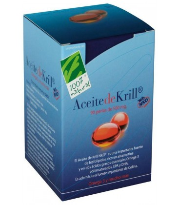ACEITE KRILL 120p. 500mg. 100% natural
