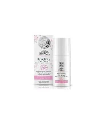 SERUM LIFTING FACIAL RENOVA 30ml. natura siberica