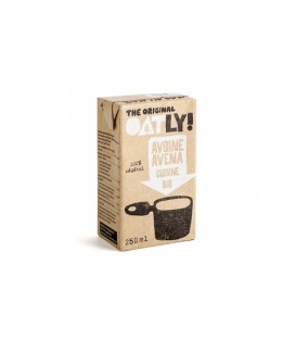 NATA CREMA de AVENA 250ml. oatly