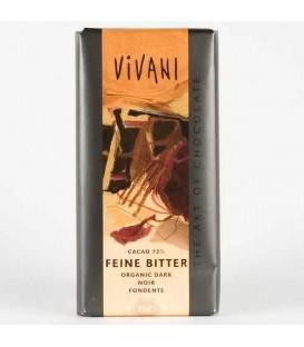 CHOCOLATE NEGRO 71% 100gr. vivani