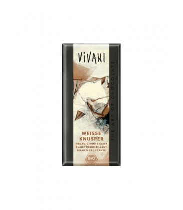 CHOCOLATE BLANCO c/ARROZ 100gr. vivani