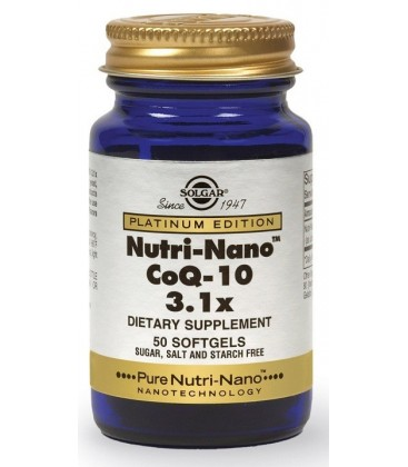 COENZIMA Q10 (nutri-nano) 50cp. solgar