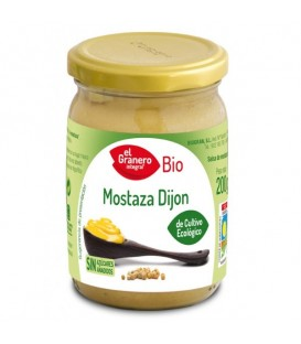 MOSTAZA DIJON 200gr. biogran