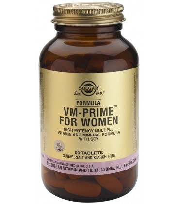 VM-PRIME FOR WOMEN (menopausia) 90cp. solgar