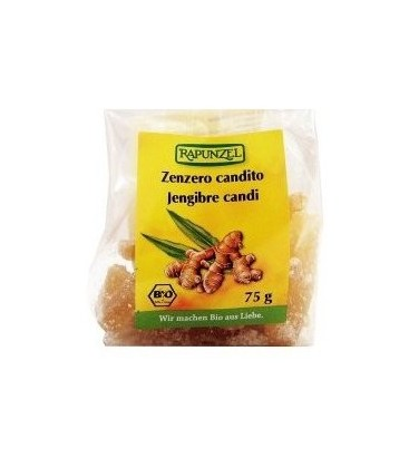 JENGIBRE CANDI 75g rapunzel