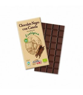 CHOCOLATE NEGRO c/CANELA 100gr. sole