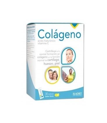 COLaGENO c/ACIDO HIALURoNICO y vit.C 30cp. eladiet