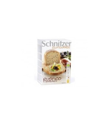 PAN RuSTICO AMARANTO s/GLuTEN schnitzer