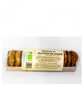 GALLETAS SALVADO de AVENA 250gr. biogredos