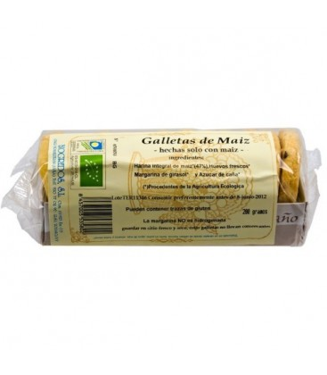 GALLETAS de MAiZ 200gr. biogredos
