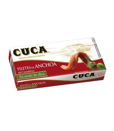 ANCHOAS ACEITE OLIVA VIRGEN EXTRA 48gr. cuca
