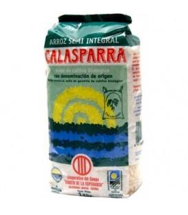 ARROZ CALASPARRA SEMINTEGRAL 1kg. calasparra