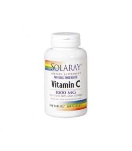 VITAMINA C 1000mg. 100cp. solaray