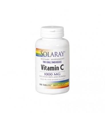 VITAMINA C 1000mg. 100cp. solaray