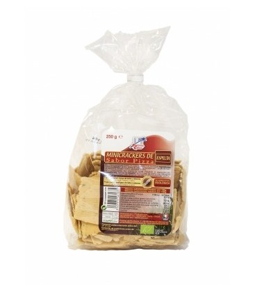 MINICRACKERS ESPELTA PIZZA 250gr. finestra