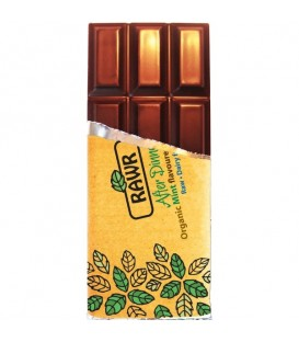 CHOCOLATE RAW FOOD MENTA 60gr. rawbite