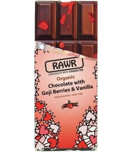CHOCOLATE RAW FOOD GOJI y VAINILLA 60gr. rawbite