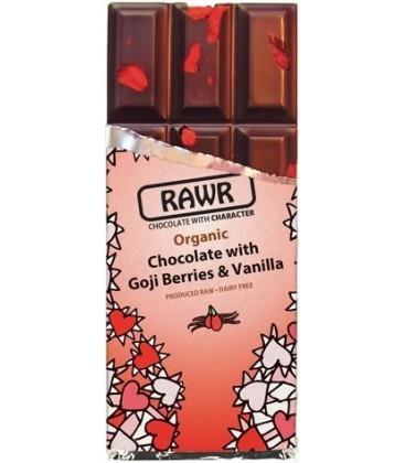 CHOCOLATE RAW FOOD GOJI y VAINILLA 60gr. rawbite