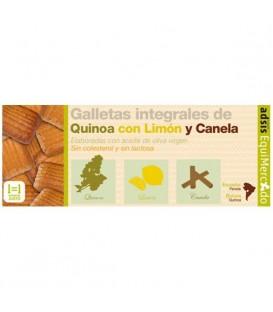 GALLETA QUINOA LIMON/CANELA 125gr. equimercado