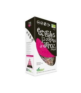 ESPIRALES ARROZ INT. TRICOLOR 250gr. soria natural