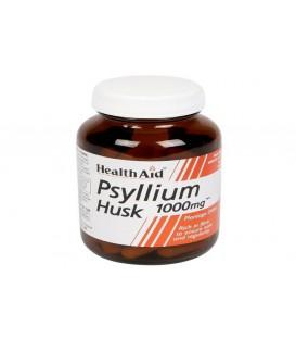 PSYLLIUM HUSK (fibra) 60cp. health aid