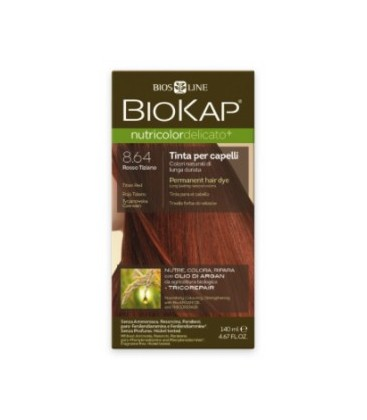 NUTRICOLOR DELICATO 8.64 ROJO TIZIANO biokap