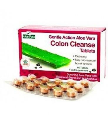 COLON CLEANSE (limpieza colon) 60cp. aloe pura