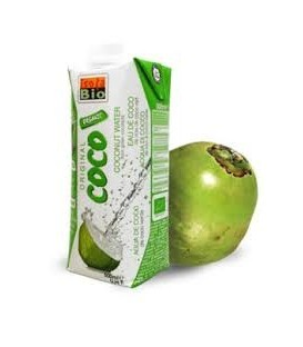 AGUA COCO NATURAL 100% 500ml. isola