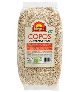COPOS AVENA FINOS 500gr. biogra