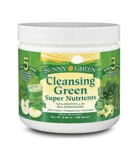 CLEANSING GREEN S.NUTRIENTS 166gr. sunny green
