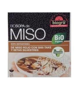 SOPA MISO SETAS 40gr. biogra