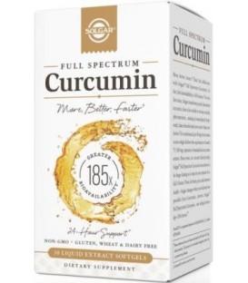 FULL SPECTRUM CURCUMIN 30comp. solgar