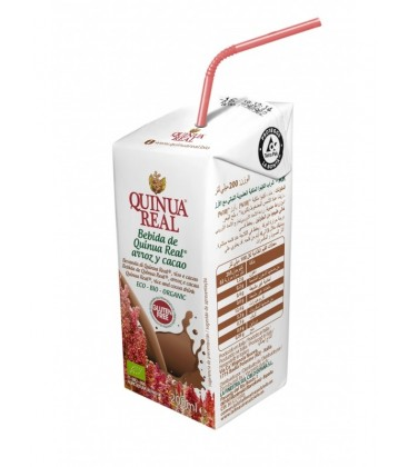 MINI BEBIDA QUINOA CACAO 200ml. quinua real