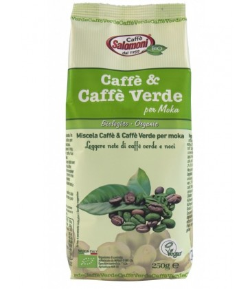 CAFE VERDE ARABICA 250gr. salomoni
