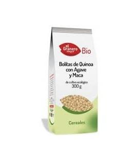 BOLITAS QUINOA AGAVE Y MACA 300gr. el granero
