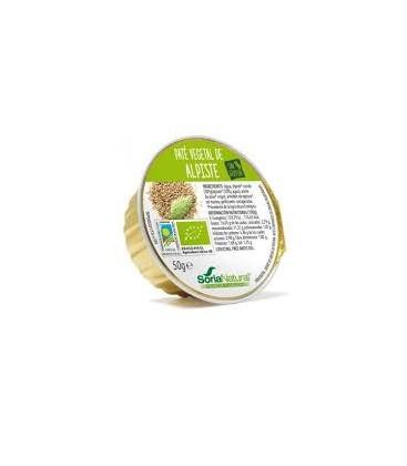 PATE ALPISTE s/gluten 50gr. soria natural