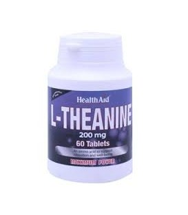 L-THEANINE 200mg. 60comp. health aid
