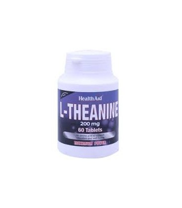 L-THEANINE 200mg. 60comp. health aid