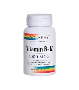 VITAMINA B12 1000mg SOLARAY